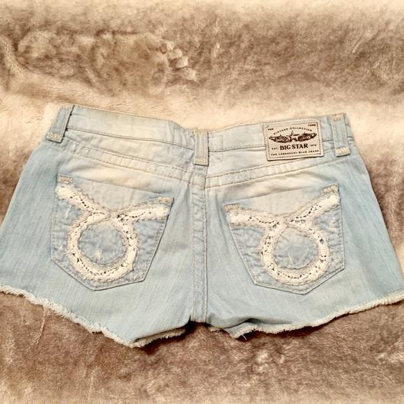 Big Star Pants - Big Star Liv Denim Shorts